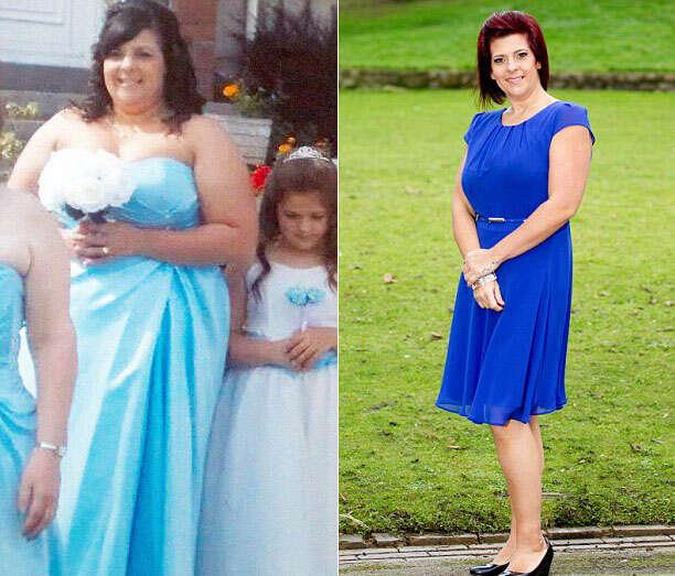 Mulher se assusta com seu corpo ao se ver vestida de dama de honra e perde 45 quilos