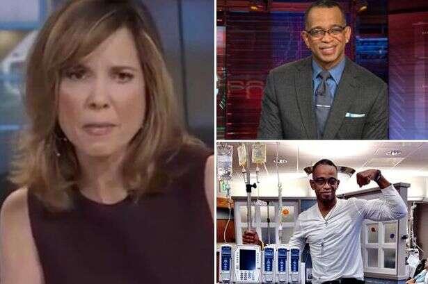 Apresentadores de TV se emocionam ao vivo ao anunciar morte de colega de trabalho