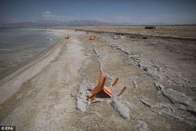 Mar Morto pode realmente estar morrendo devido ao seu nível de água