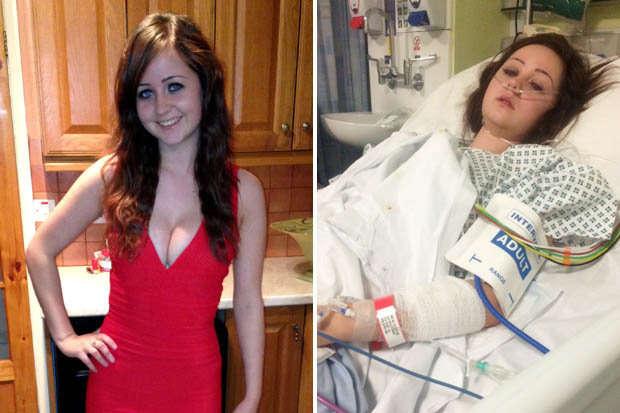 Garota sofre acidente e é salva graças ao vestido