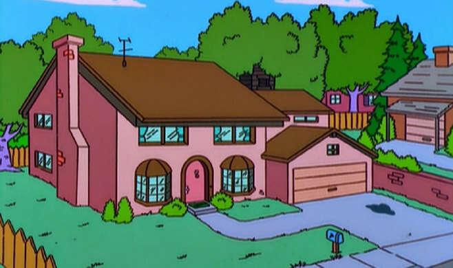 Russo investe muito dinheiro para construir casa idêntica à dos Simpsons
