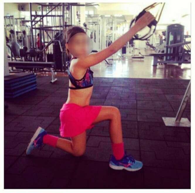 Blogueira fitness infantil vem causando polêmica na web