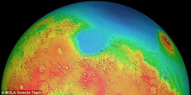 Cientistas descobrem dois hemisférios no planeta Marte