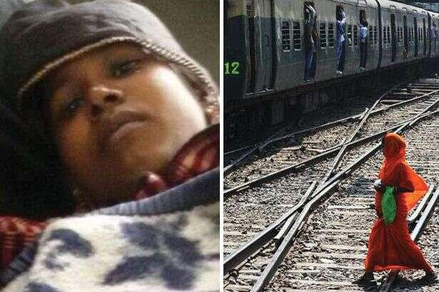 Grávida dà à luz banheiro de trem e bebê cai nos trilhos