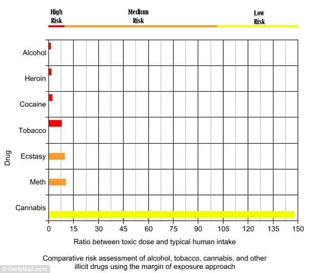 Álcool é 114 vezes mais letal que maconha, diz pesquisa