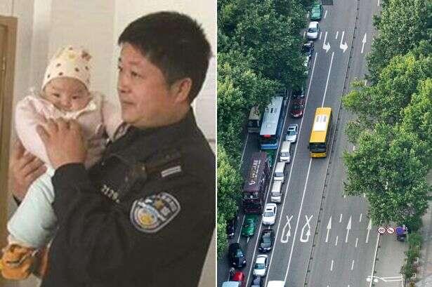 Pais abandonam bebê em estrada após discussão