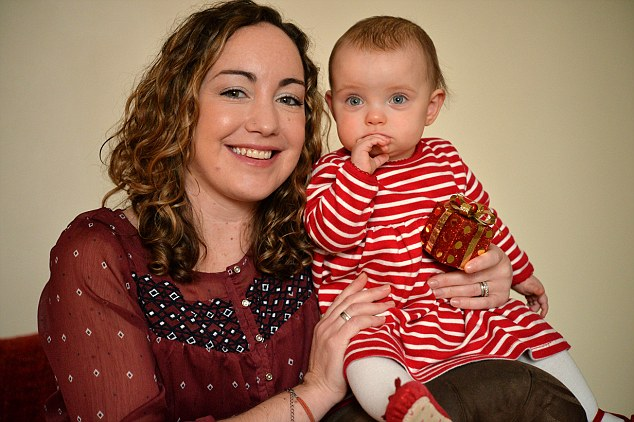 ©PRESS PEOPLE PICTURE MICHAEL BAISTER JENI BLUETT WITH 1-YEAR-OLD DAUGHTER PIXIE WHO SURVIVED HER TWIN LILLIE