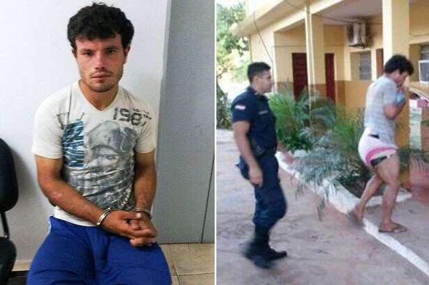 Homem é preso usando fralda e chupando pirulito em tentativa de se passar por criança perdida para enganar idosas