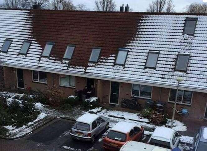 Falta de neve em telhado faz polícia descobrir plantação de maconha dentro de residência