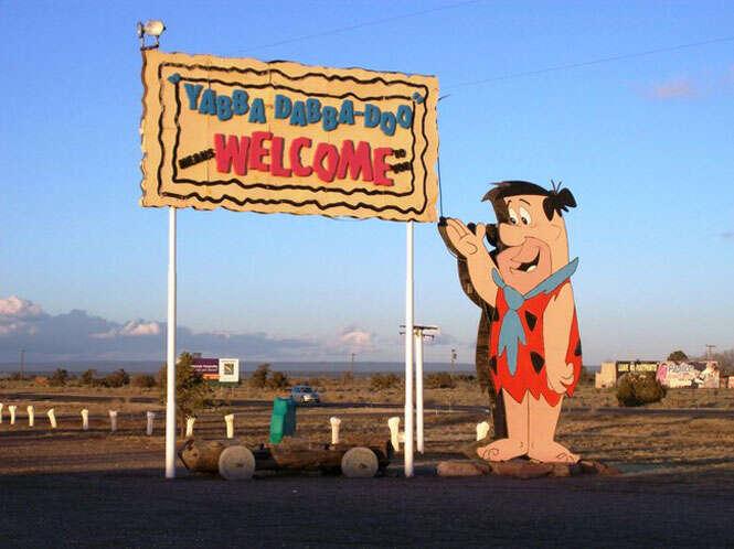 Cidade real dos Flintstones