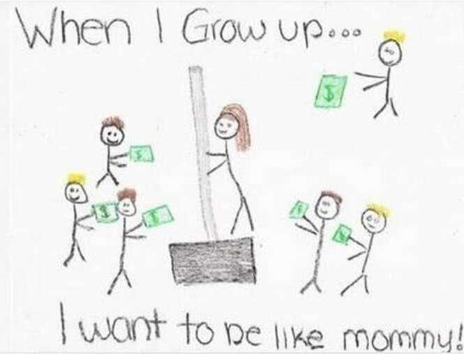 Desenho de criança faz professores pensarem que mãe de aluno era dançarina de boate para maiores