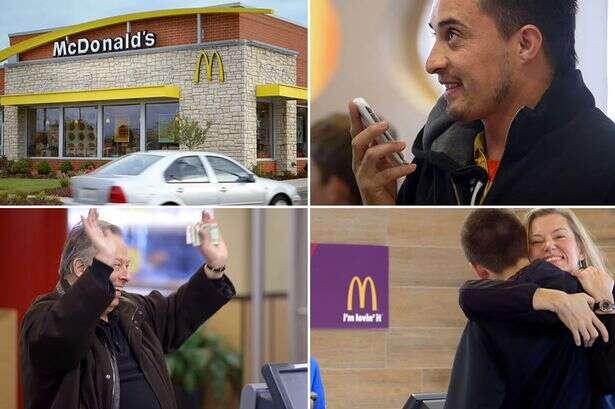McDonald's permite a clientes pagarem por suas refeições com abraços em sua mais nova promoção