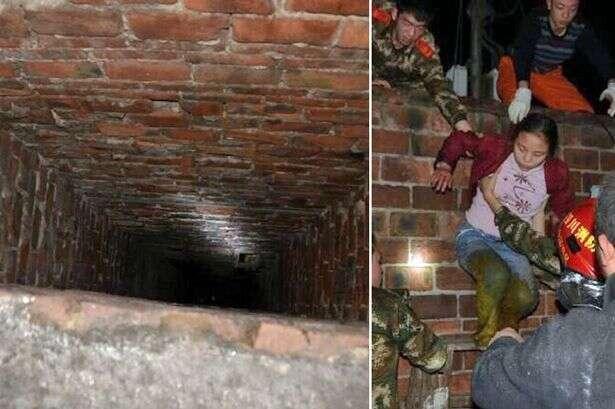 Menina de 10 anos milagrosamente sobrevive à queda em poço cheio de excrementos