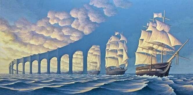 Artista cria obras incríveis que desafiam nossa mente