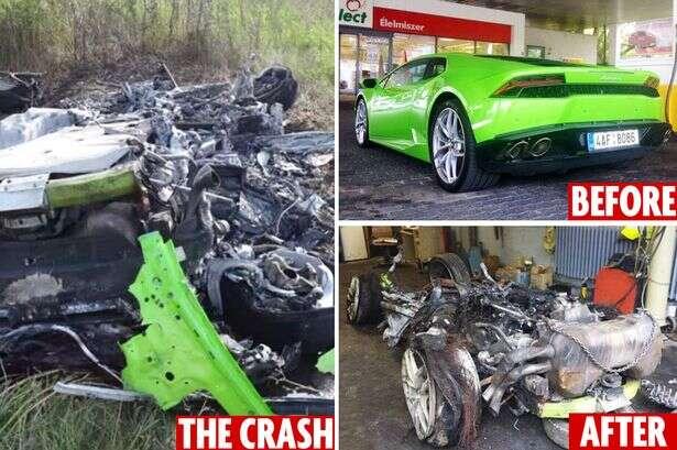 Homem coloca restos de sua Lamborghini à venda por R$ 12 mil reais