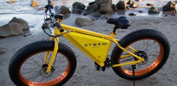 Bicicleta criada pela Storm Bike