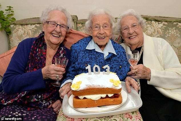 Irmãs quase centenárias afirmam que bebidas alcoólicas são garantia de uma vida longa