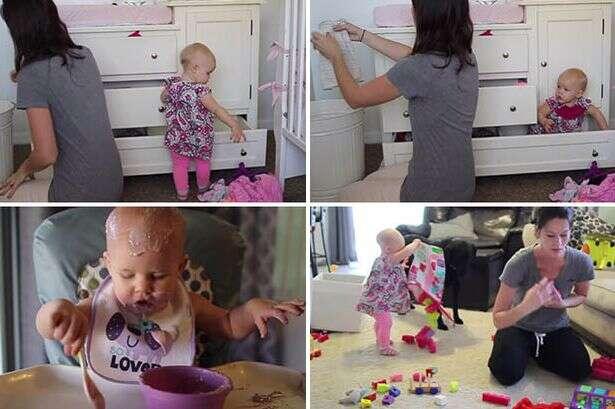 Vídeo fofo mostra porque mães sofrem para arrumar a casa quando têm bebê por perto