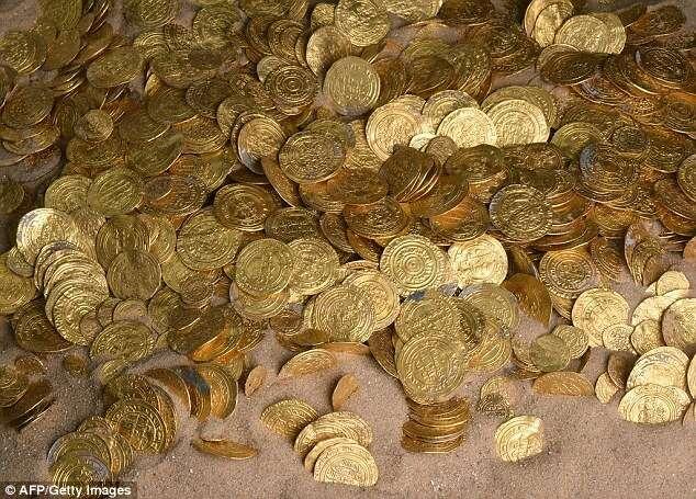 Tesouro encontrado em Israel