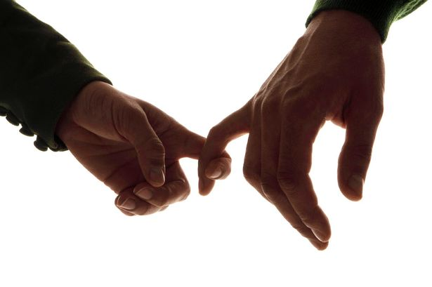 Mãos dos homens