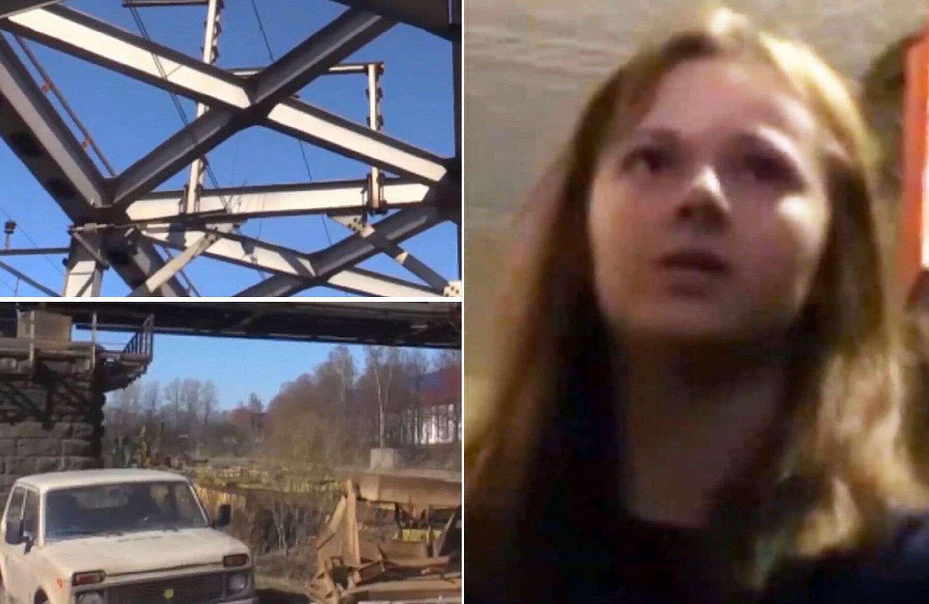 Queda mortal: Xenia caiu ao tentar tirar uma selfie e acabou morrendo