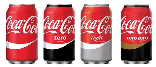 Coca Cola investe em novo design para suas latas e garrafas