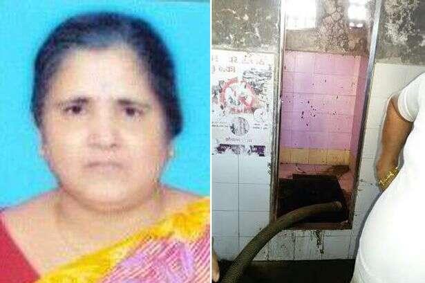Mulher morre ao usar vaso sanitário de banheiro público e cair em tanque séptico