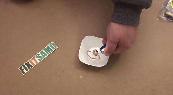 Aprenda a fazer uma vela que não emite fumaça
