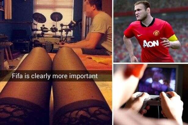 Jovem é humilhado na internet após namorada trocada por videogame publicar foto vestindo roupa íntima enquanto ele se diverte