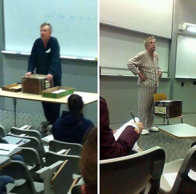 Professores malucos
