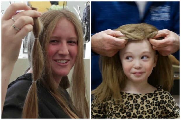 Vídeo mostra o que acontece depois que você corta seu cabelo para doação