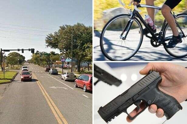 Ciclista morre ao disparar arma acidentalmente contra si próprio