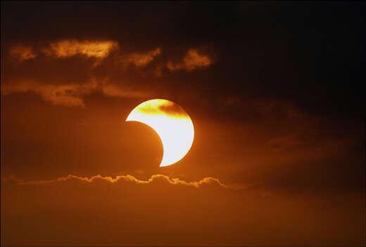 Eclipse Solar desta sexta-feira (20), pode ser visto ao vivo pela internet