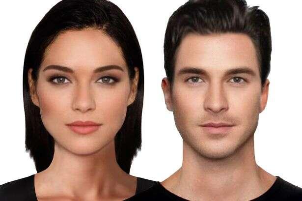 Programa de computador desenha o casal mais bonito e atraente do mundo