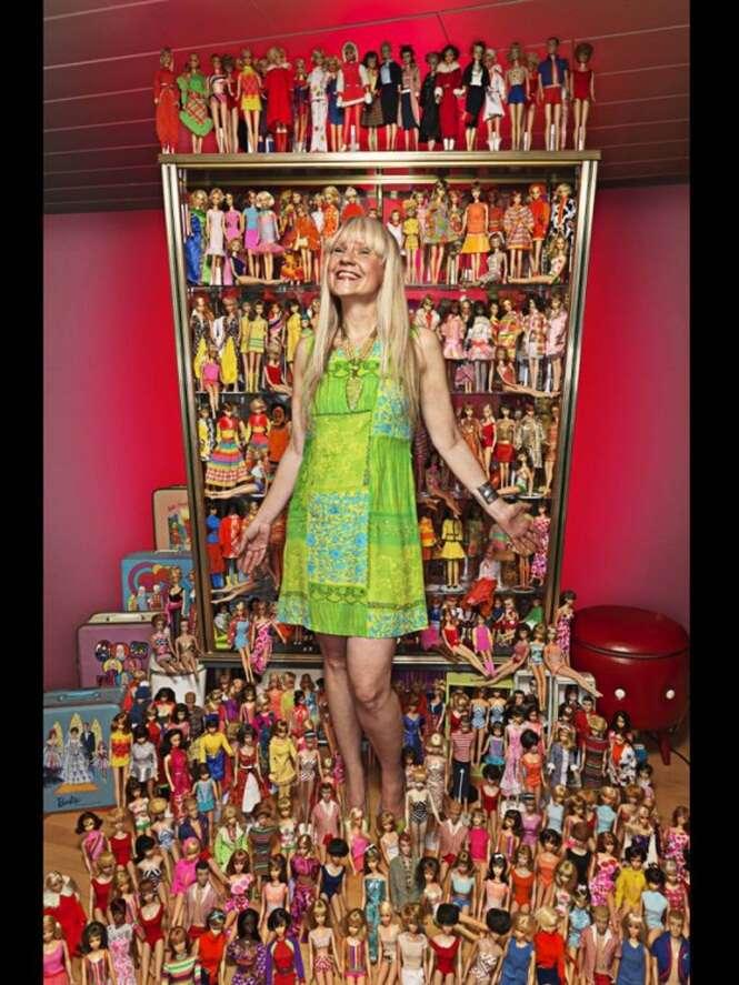 Conheça a maior coleção de Barbies do mundo