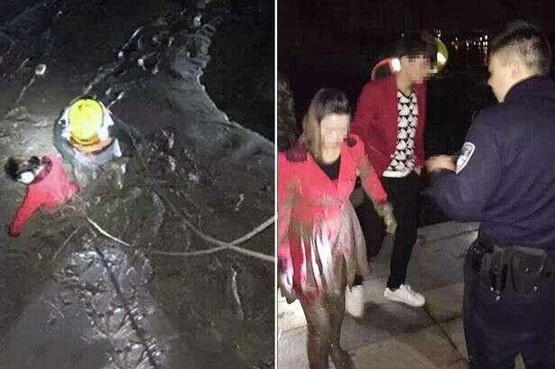 Namorada e ex de jovem se jogam em rio para ver qual delas rapaz iria resgatar primeiro