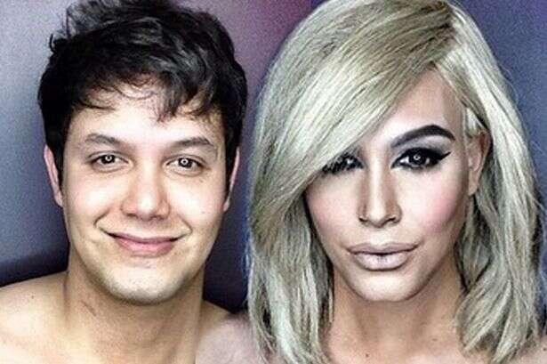 Artista usa somente maquiagem e se transforma em Kim Kardashian e outras celebridades