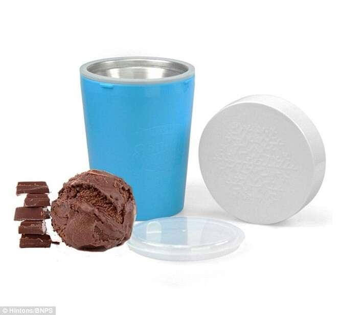 Novo aparelho promete preparar sorvete em apenas 3 minutos