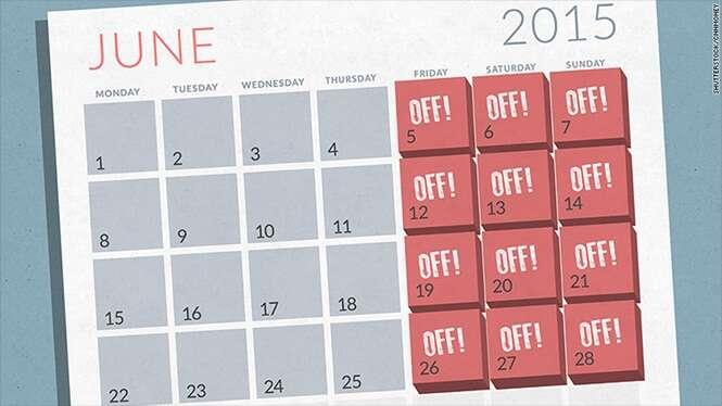 Empresas americanas começam a permitir que funcionários trabalhem de segunda à quinta-feira