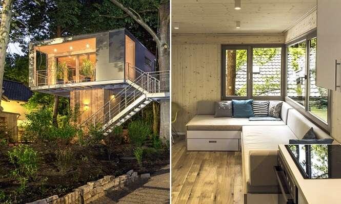 Melhor e mais elegante casa da árvore chama atenção em Berlim