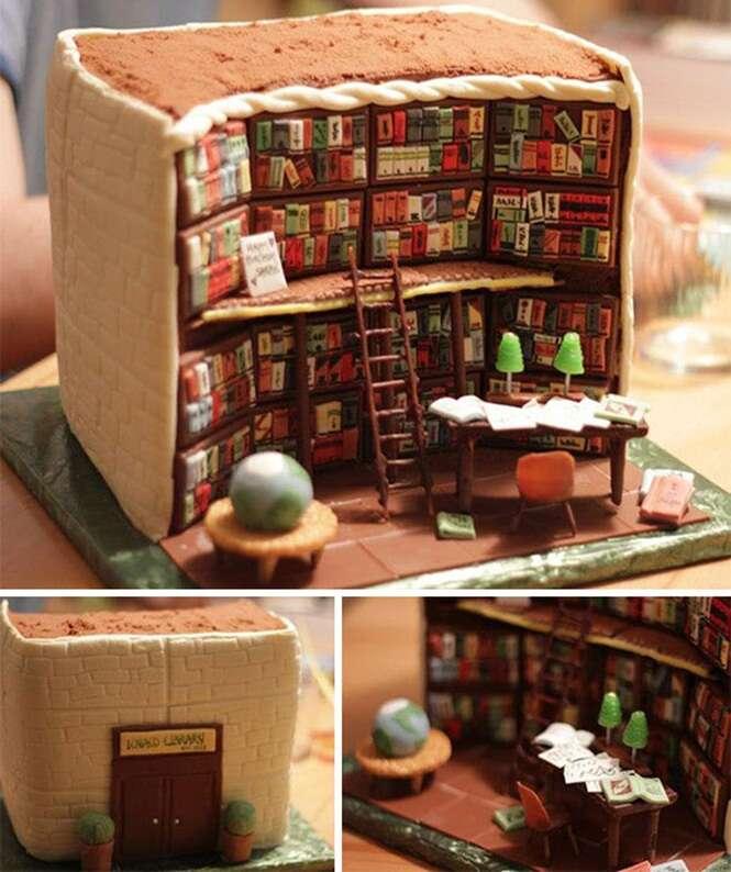 Os bolos mais deliciosos que são criativos demais para serem comidos