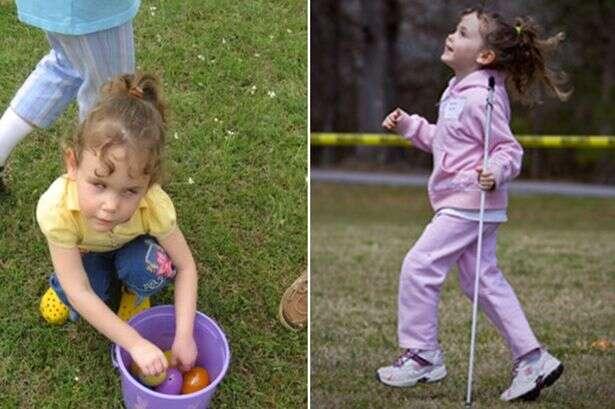Pai cria dispositivo sonoro para que filha cega participar de brincadeira na Páscoa
