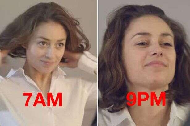 Vídeo retrata como cansaço durante um dia faz nossa aparência envelhecer