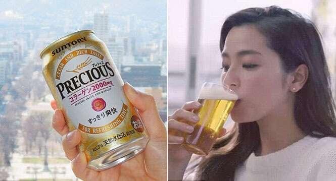 Empresa japonesa fabrica cerveja que rejuvenesce a pele