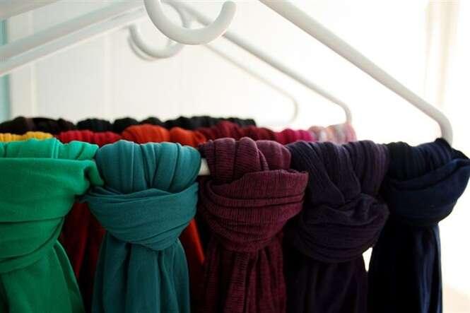 Formas criativas de organizar o closet ou guarda-roupas