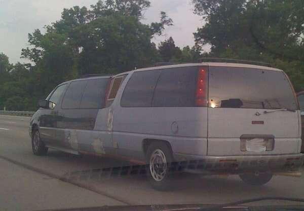 Limousines que você não vai querer nem mesmo pegar carona