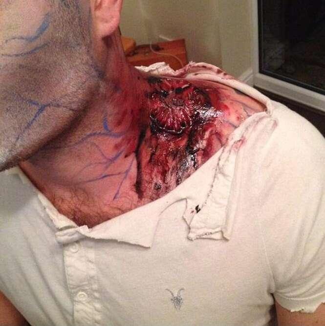 AGC SFX Make Up Artist horror make up