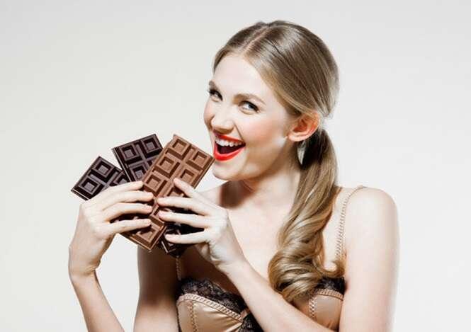 Pesquisa afimra que comer chocolate ajuda a perder peso