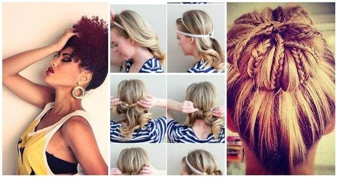Penteados femininos para você se refrescar durante o verão