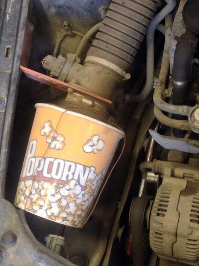 Formas de reparo criativas para seu carro